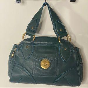 Marc Jacobs Kelly Green Leather handbag Satchel